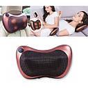 Массажная подушка Massage pillow спины и шеи, ног с инфракрасным подогревом - 178608, фото 4