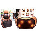 Массажная подушка Massage pillow спины и шеи, ног с инфракрасным подогревом - 178608, фото 7
