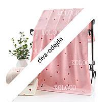 Стильное полотенце для уюта в вашем доме.Размер:1,4 x 0,7