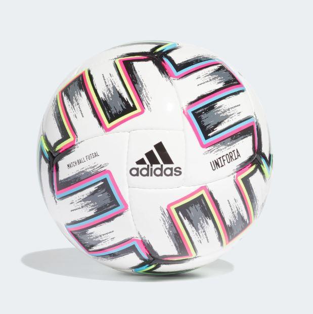 Мяч футзальный Adidas Uniforia Pro Sala Ball Euro 2020 №4 FH7350 Белый