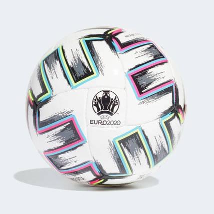 Мяч футзальный Adidas Uniforia Pro Sala Ball Euro 2020 №4 FH7350 Белый, фото 2