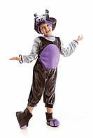 Детский карнавальный костюм Бегемот на рост 110-120 см, фото 1