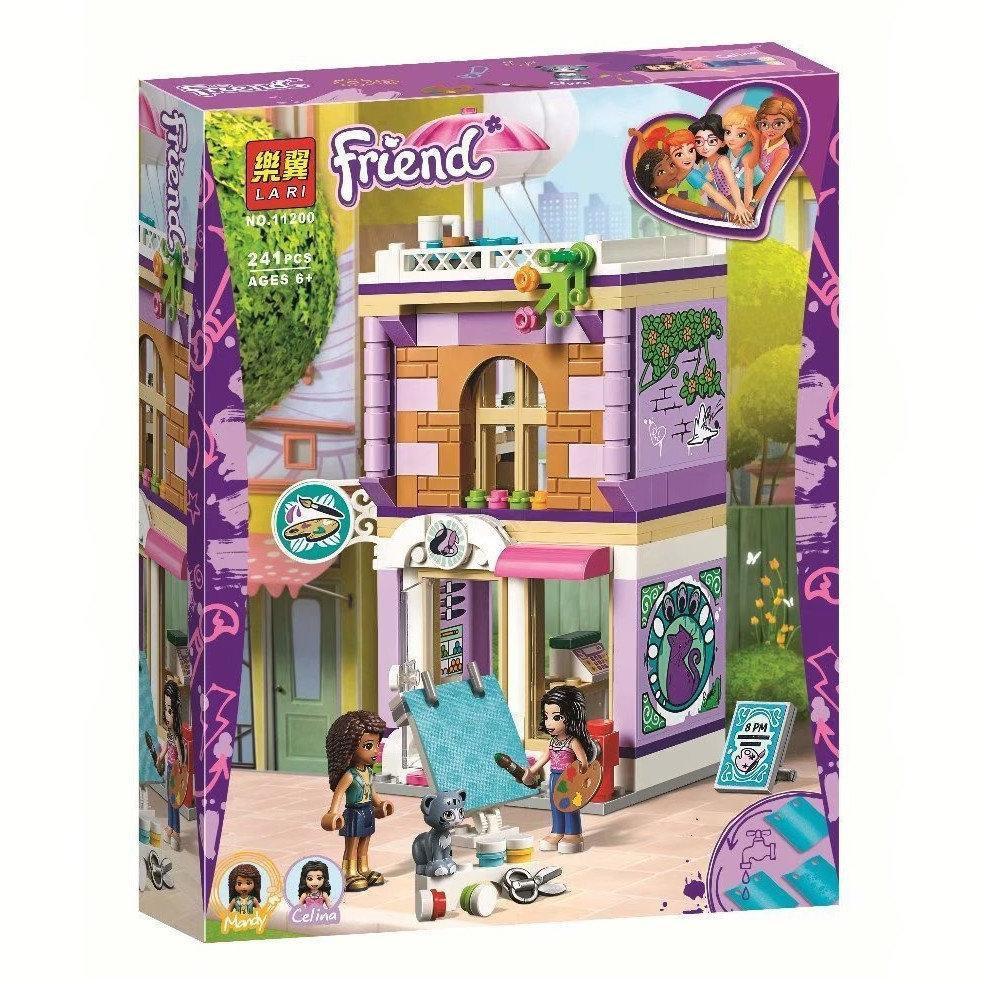 "Конструктор Friends 11200 (Аналог Lego Friends 41365) ""Художественная студия Эммы""241"