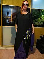 Женское модное платье . Размеры 48-58