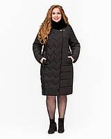 Зимняя куртка удлиненная  с 52 по 64 размер