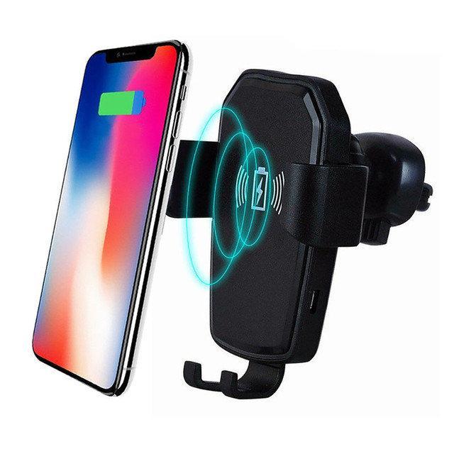 Автомобільний Тримач для Телефону з Бездротовою Зарядкою Wireless Сһагдег K81