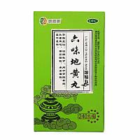 Общеукрепляющие пилюли «Шесть трав/ Лю вэй Дихуань Вань» (Liuwei Dihuan Wan) 240шт