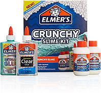 Набор Elmer's для изготовления хрустящего Кранчи слайма. Elmer's Crunchy Slime Kit, из США, фото 1