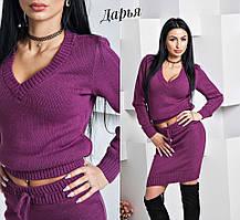 Женский костюм  юбка+кофта tez5510471