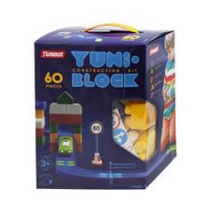 """Конструктор дитячий """"YUNI-BLOK"""" 60 коробка 1412"""