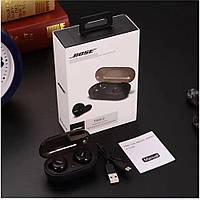 Беспроводные наушники Bose TWS2 Bluetooth c боксом для зарядки, фото 1