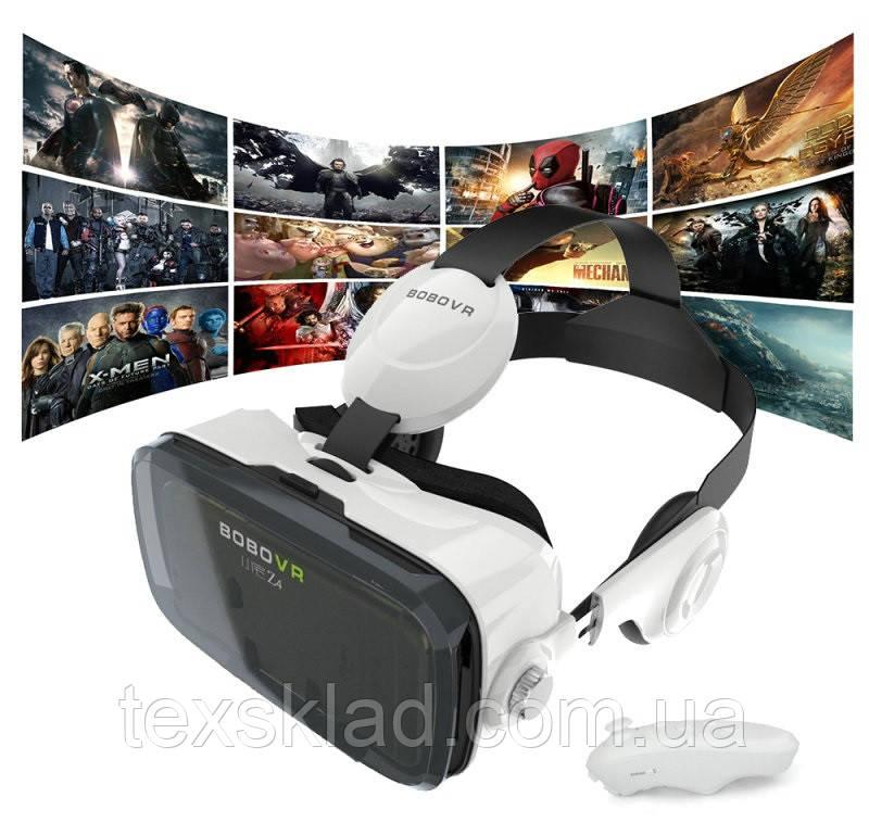 3D очки виртуальной реальности VR Z4 с наушниками и пультом
