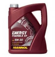 Моторное гидросинтетическое масло Mannol (Манол) ENERGY FORMULA OP 5W-30 5л.