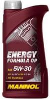 Моторное гидросинтетическое масло Mannol (Манол) ENERGY FORMULA OP 5W-30 1л.