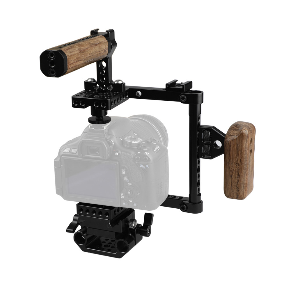 KEMO C1807 Клетка стабилизатора буровой установки для Nikon для Canon для Sony DSLR камера - 1TopShop