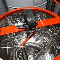 Медогонка 3-х рам, не поворотная с нержавеющей стали(детали ротора и кассеты сварные - с нерж. стали)