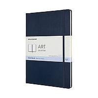 Блокнот Moleskine Art А4 (21х29,7 см) для Набросков Сапфир (8058647626727)