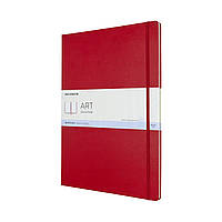 Блокнот Moleskine Art А3 (29,7х42 см) для Набросков Красный (8058647626710)