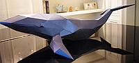 Кит 3Д модель papercraft, фото 1