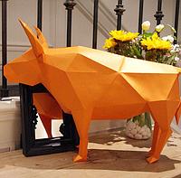 Вол 3Д модель papercraft