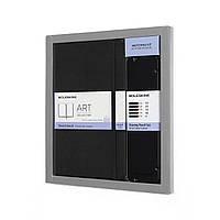 Подарочный набор Moleskine Art Блокнот Средний для Набросков Черный + 5 Простых Карандашей (8058341717585)