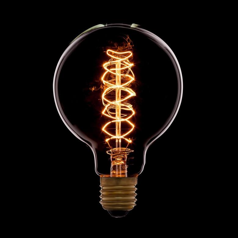 """Лампа Эдисона """"шар"""" 95мм"""