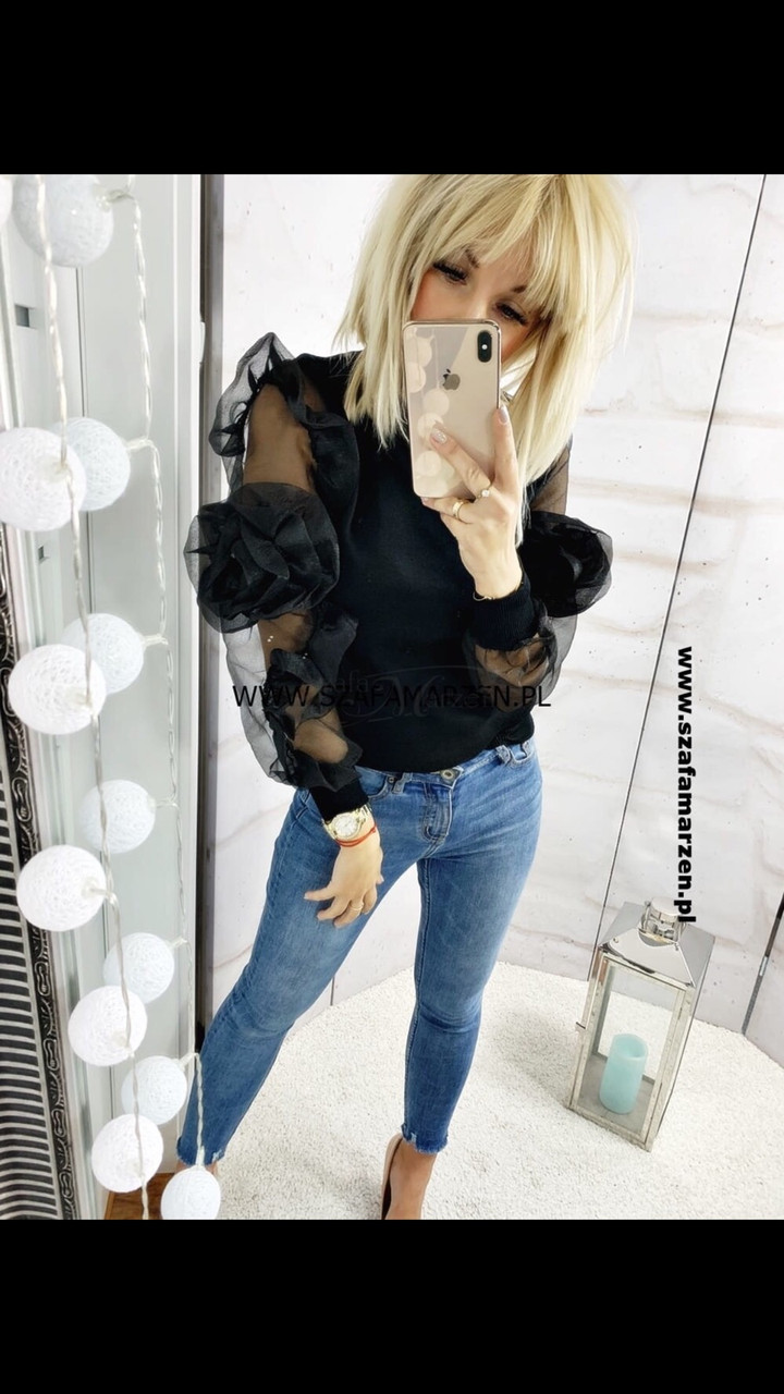 Нарядная кофта-блузка