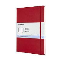 Блокнот Moleskine Art А4 (21х29,7 см) для Набросков Красный (8058647626703)
