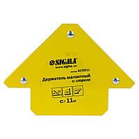Магнит для сварки стрела 11кг 75×65мм (45,90,135°) Sigma (4270311)
