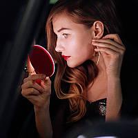 Зеркало светодиодное LED для макияжа с функцией беспроводной зарядки Код 11-7911