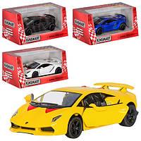"Машинка Kinsmart KT 5359 W ""Lamborghini Sesto"", 13 см (Y)"