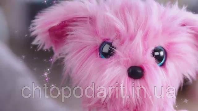 Игрушка сюрприз Scruff A Luvs пушистик потеряшка розовая Код 12-2026