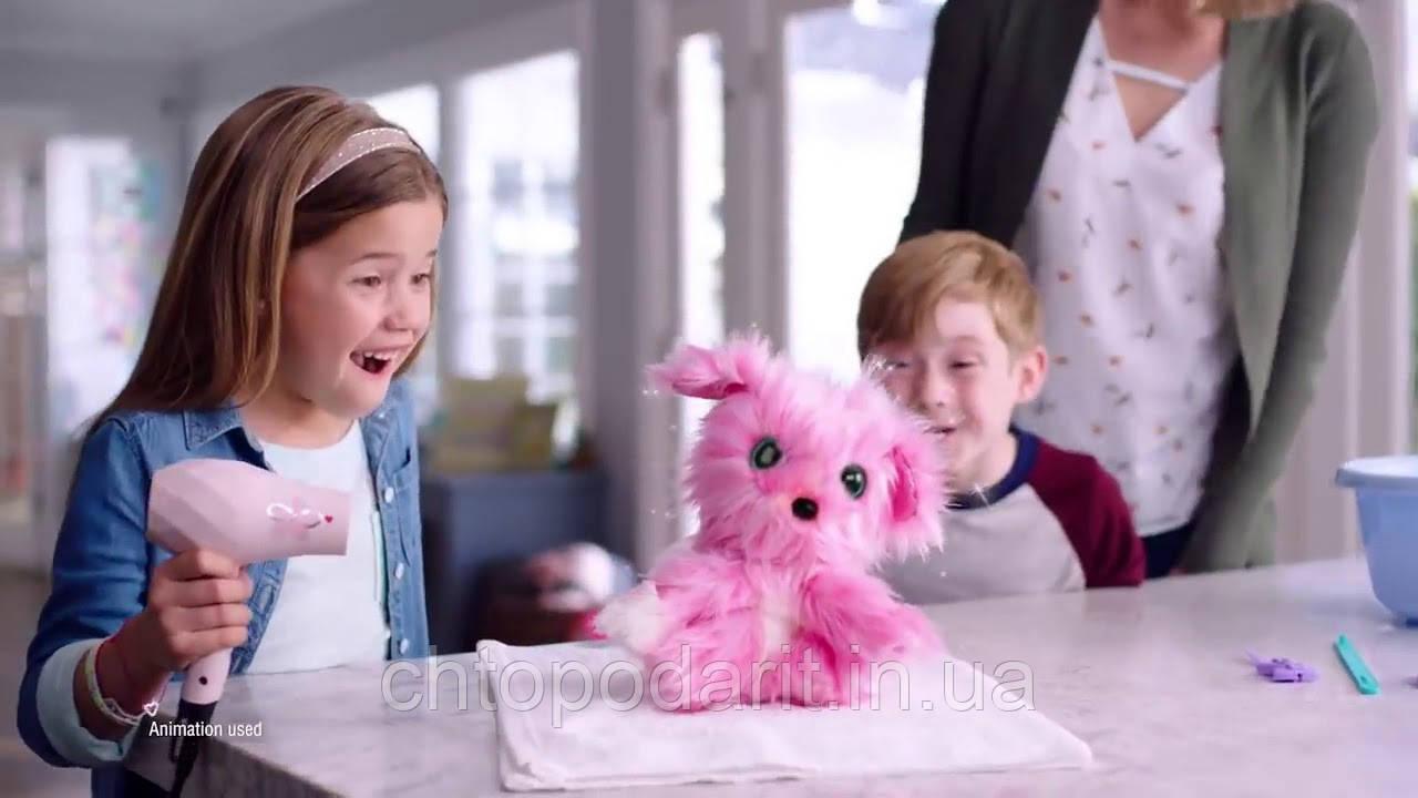 Игрушка сюрприз Scruff A Luvs пушистик потеряшка розовая Код 12-2313