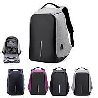 """Рюкзак Bobby 2.0 17"""" XD Design c защитой от карманников и с USB для зарядки"""