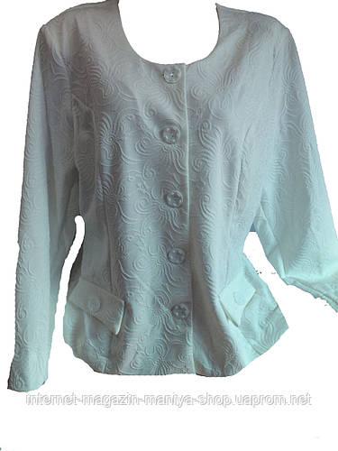 Женский пиджак батал