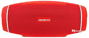 Портативная Bluetooth колонка HOPESTAR H27 (Bluetooth, MP3, AUX, USB) Red