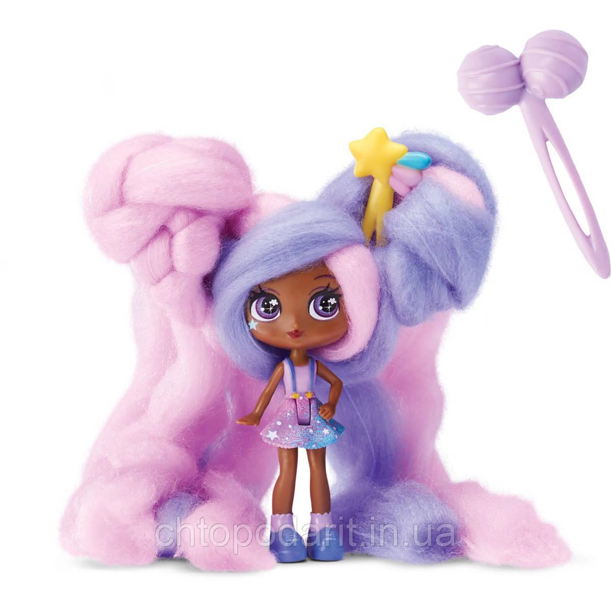"""Кукла """"Кендилукс сладкая вата"""" Candylocks с цветными волосами Код 12-1856"""