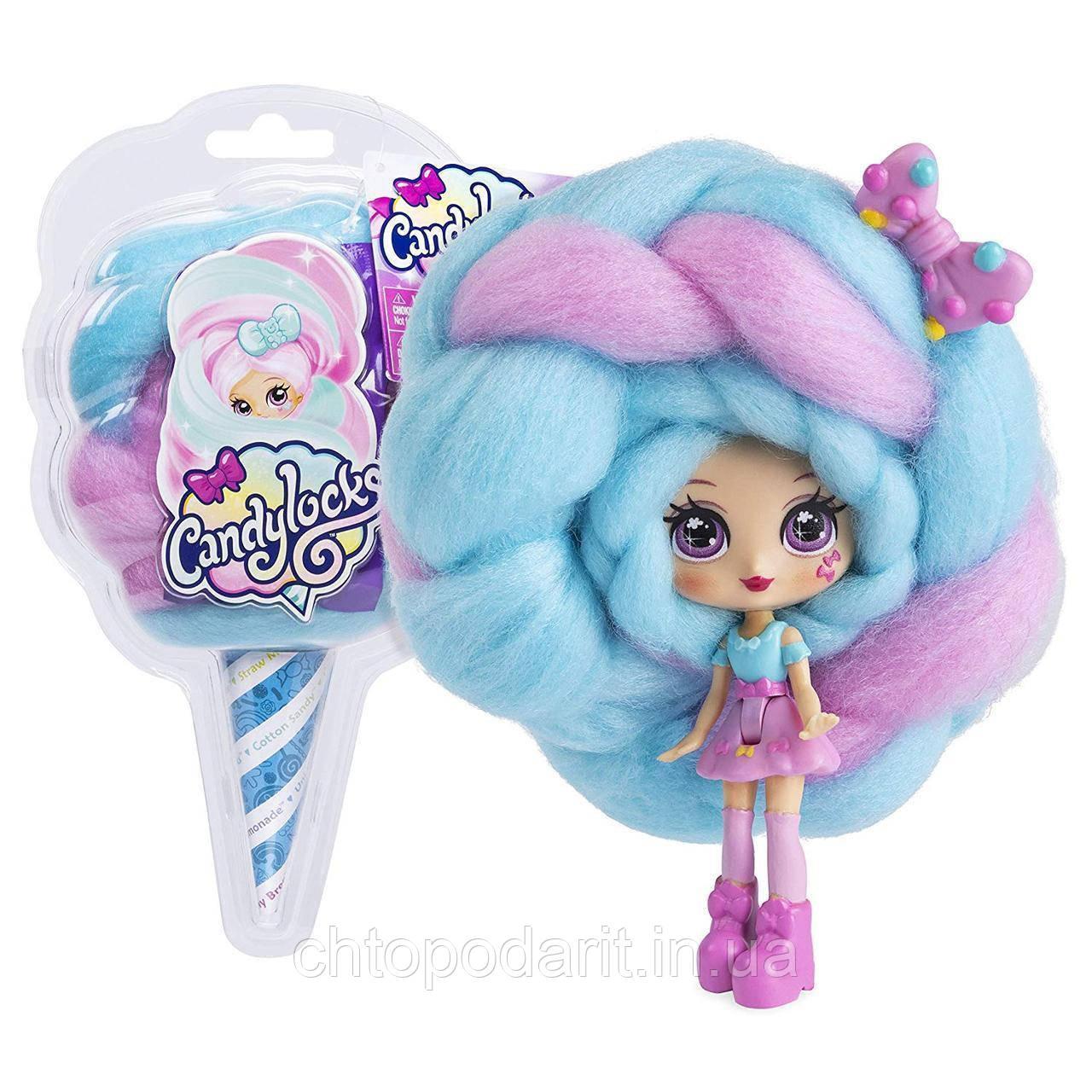 """Кукла """"Кендилукс сладкая вата"""" Candylocks с цветными волосами Код 12-1926"""
