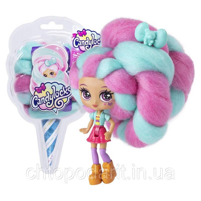 """Кукла """"Кендилукс сладкая вата"""" Candylocks с цветными волосами Код 12-1929"""