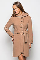 Кашемировое пальто. Бежевое кашемировое пальто женское 2015