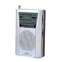 Мини портативный карманный AM/FM радиоприемник INDIN BC-R60 с телескопической антенной, разъем для наушников (3,5 мм), фото 1
