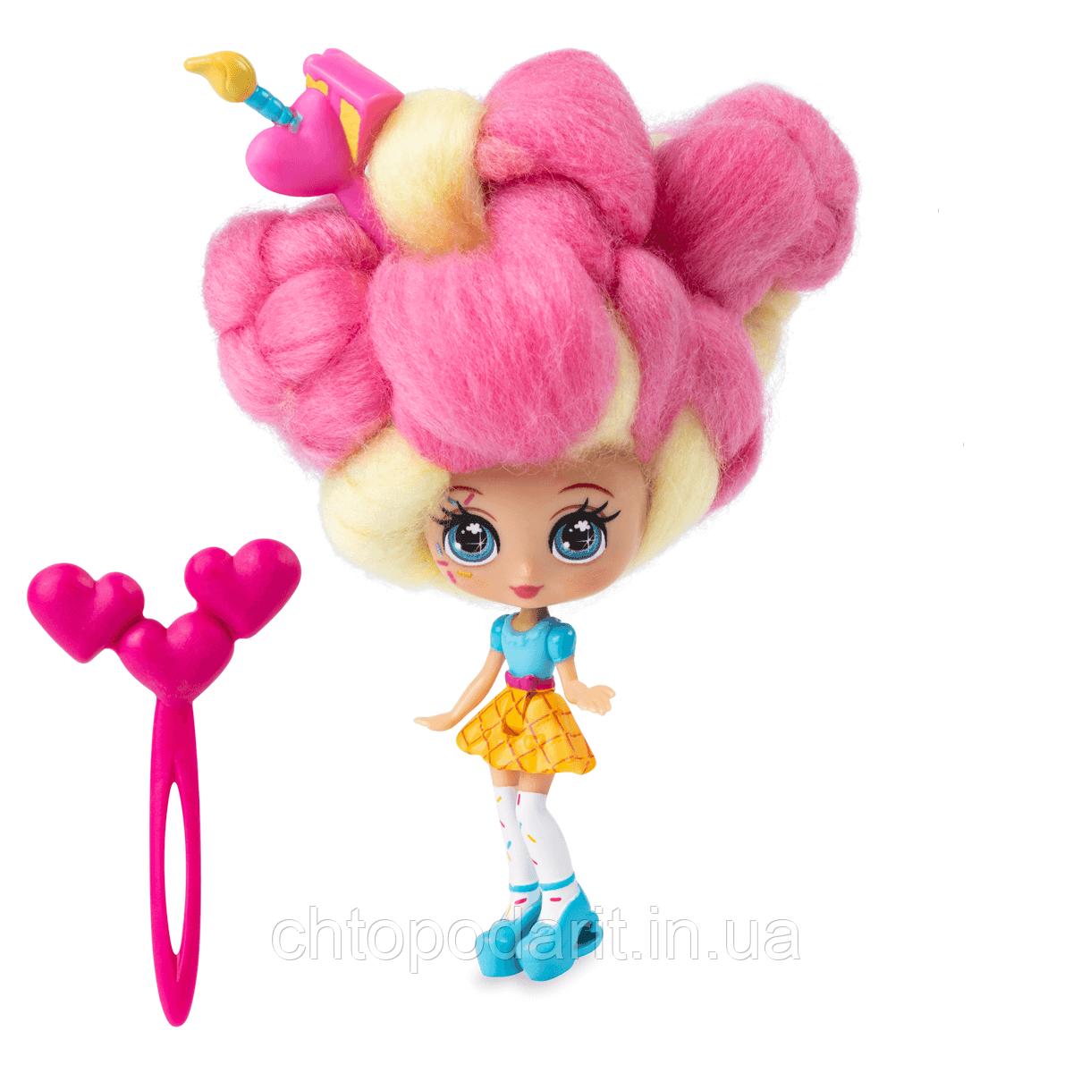 """Кукла """"Кендилукс сладкая вата"""" Candylocks с цветными волосами Код 12-2039"""