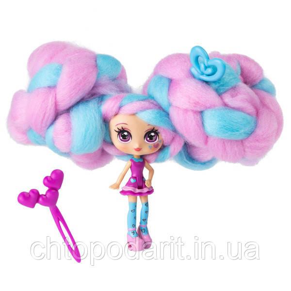 """Кукла """"Кендилукс сладкая вата"""" Candylocks с цветными волосами Код 12-2140"""