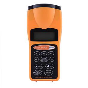 Ультразвуковой дальномер с лазерной указкой с LCD CP-3007