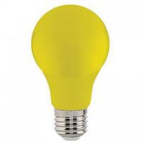 """Лампа Світлодіодна """"SPECTRA""""3W E27 A60 (жовта)"""