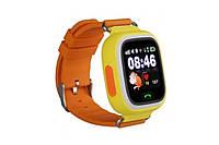Детские умные часы Smart Baby Watch G72 c Wi-Fi orange