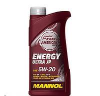 Моторное синтетическое масло Mannol Energy Ultra JP 5w20 1л.