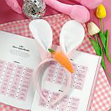 Обруч для волос с ушками зайца  Код 10-2926, фото 2