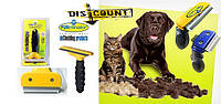 Щетка для груминга кошек и  собак Furminator deShedding tool Large Фурминатор Fubnimroat лезвие