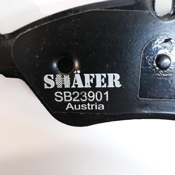 На СПАРКУ! Комплект Тормозных колодок Mercedes Sprinter Мерседес Спринтер (1995-). Задние. SHAFER Австрия. На спарку!